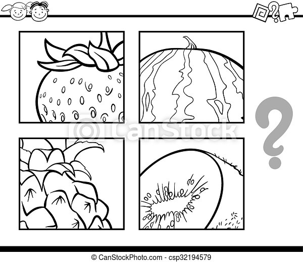 education puzzle coloring game image csp