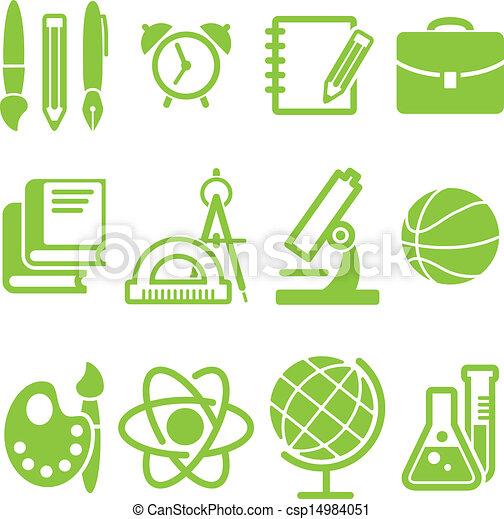 education school symbol vector collection - csp14984051