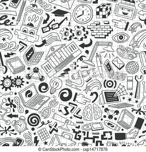 Education - seamless background - csp14717876