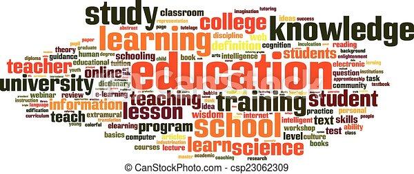 Education word cloud - csp23062309