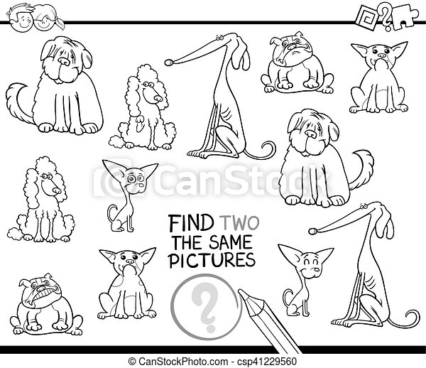 educational activity coloring page - csp41229560