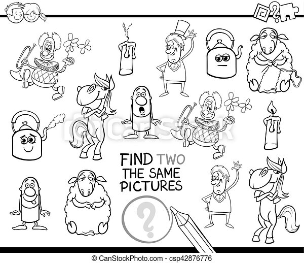 educational activity coloring page - csp42876776
