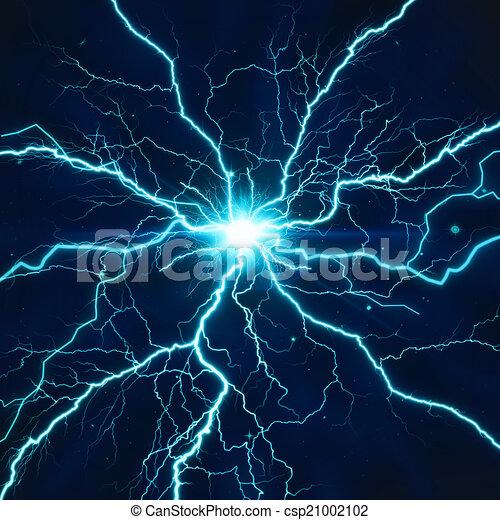 Efecto de iluminación eléctrica, antecedentes tecnológicos abstractos para tu D - csp21002102