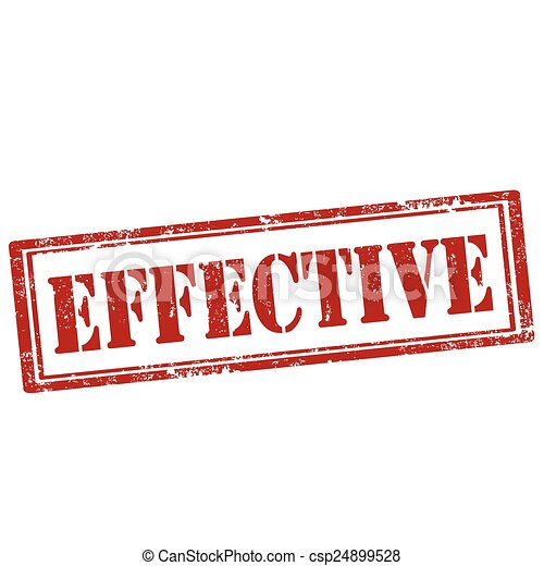 Effective-stamp. Grunge rubber stamp with text effective ...