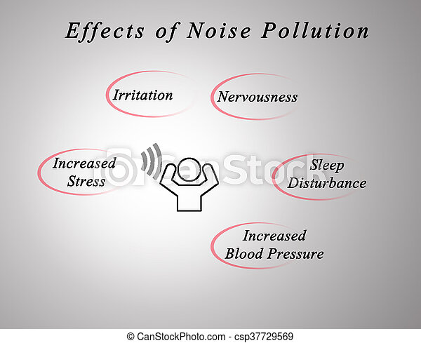 the effect of noise In general, it is plausible to suppose that we should prefer peace and quiet to noise and yet most of us have had the experience of having to adjust to sleeping in.