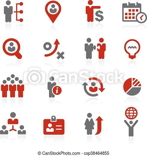 //, efficacité, redico, business, serie - csp38464855