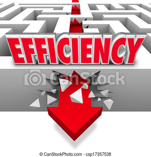 Efficiency Arrow Breaking Barriers Better Effective Results - csp17357538