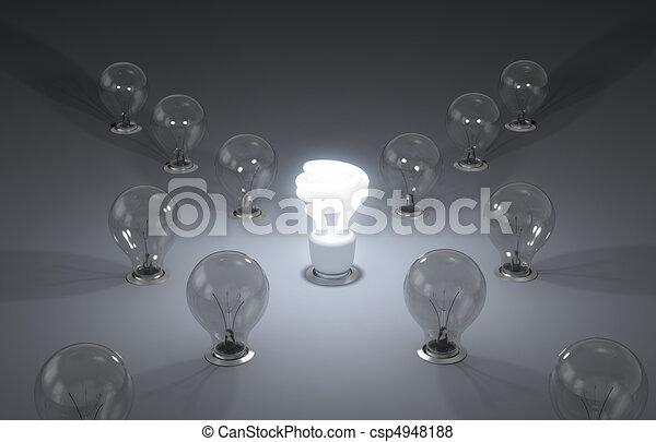 efficiente, nuovo, energy., idee - csp4948188