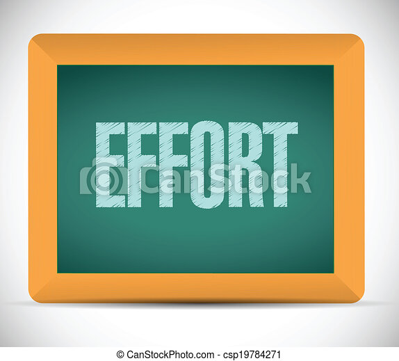effort, planche, message - csp19784271