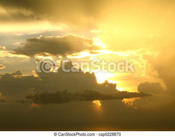 efter, oväder - csp0228870