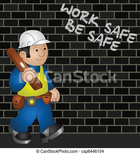egészség, biztonság - csp6446104