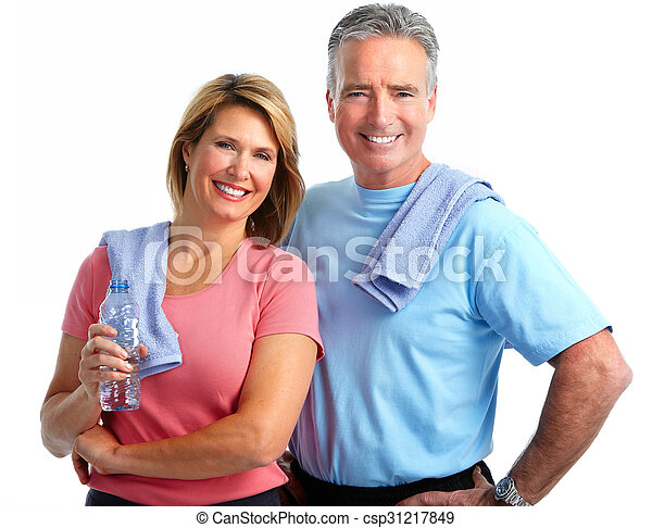 egészséges, párosít., öregedő, állóképesség - csp31217849