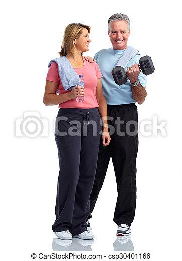 egészséges, párosít., öregedő, állóképesség - csp30401166