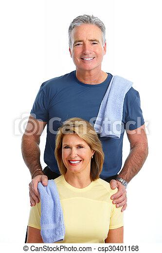egészséges, párosít., öregedő, állóképesség - csp30401168