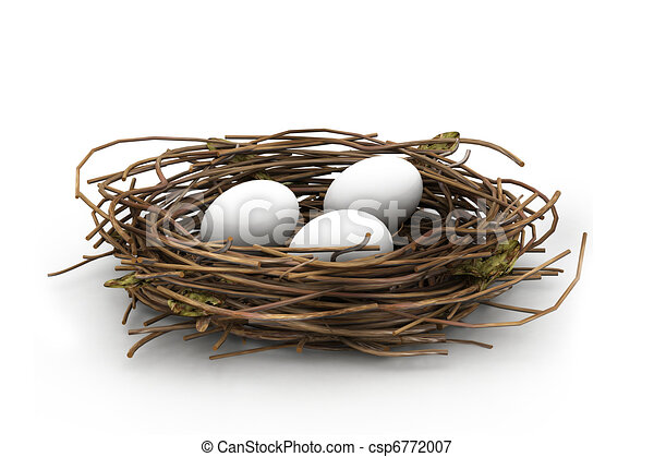 Line Drawing Nest : Nest illustrations and clipart royalty free