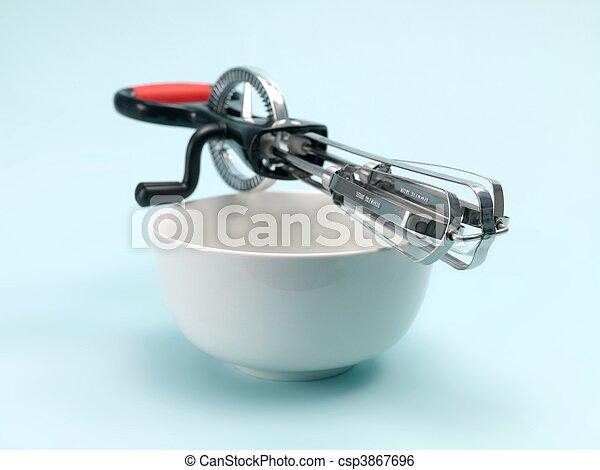 Egg Beater - csp3867696