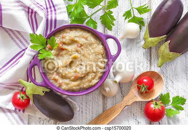 Eggplant puree - csp15700020