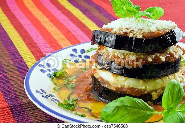 eggplants parmigiana  - csp7546508