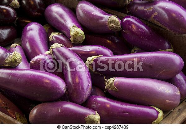 Eggplants - csp4287439