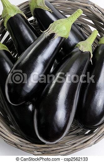 Eggplants. - csp2562133