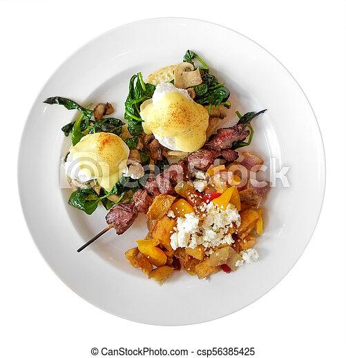 Eggs Benedict - csp56385425