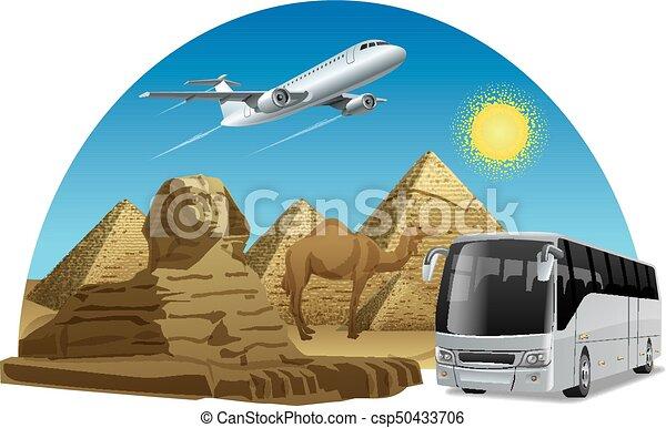 Viaje en Egipto - csp50433706