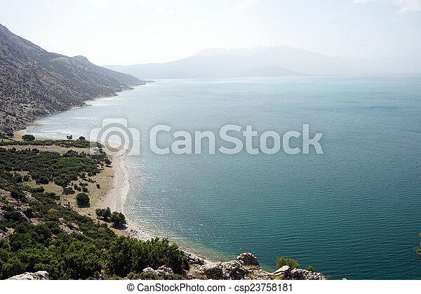 Egirdir lake - csp23758181