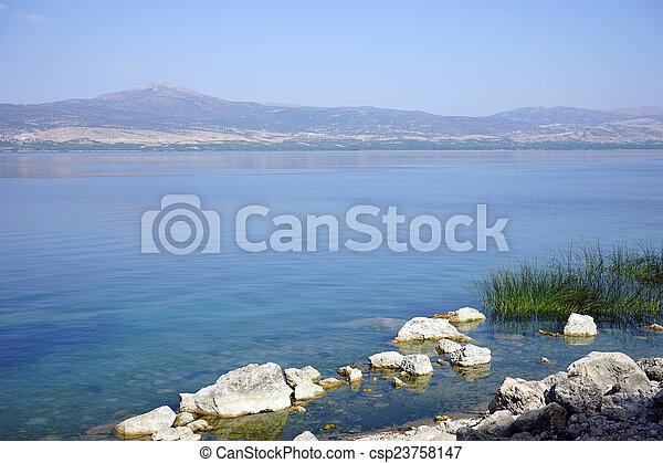 Egirdir lake - csp23758147