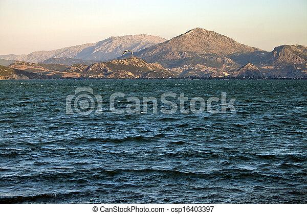 Egirdir lake - csp16403397