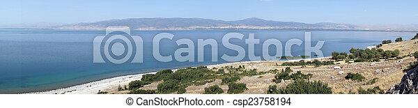 Egirdir lake - csp23758194