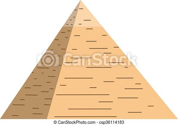 Egito Vetorial Ilustracao Piramides Piramide Illustration