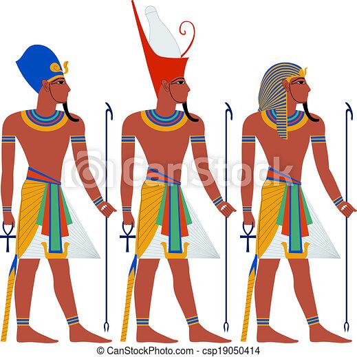 egitto, passover, antico, faraone, pacco - csp19050414