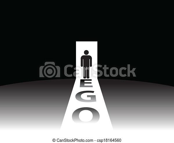 ego, mänsklig - csp18164560