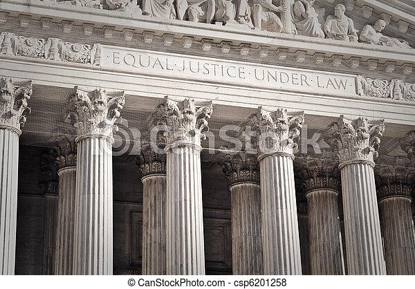 egyesült államok, legfőbb, egyesült, bíróság - csp6201258