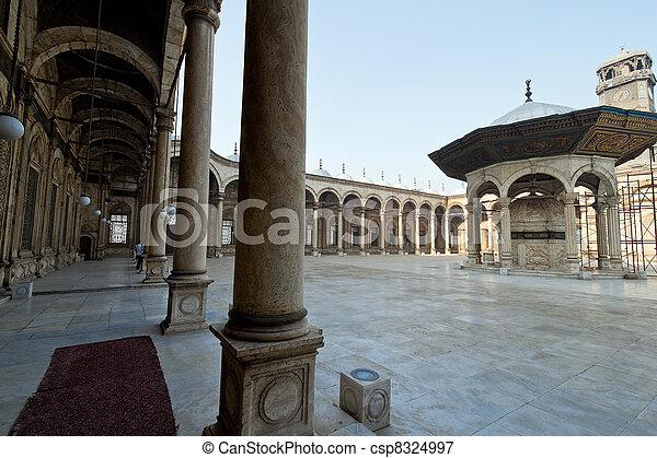 egypt, cairo. mohammed ali mosque. - csp8324997