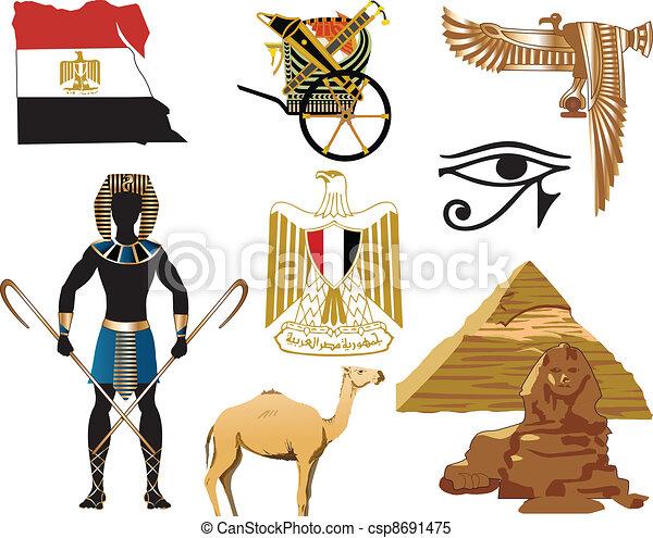 Egypt Icons - csp8691475