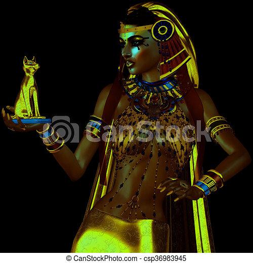 Egyptian Bast - csp36983945