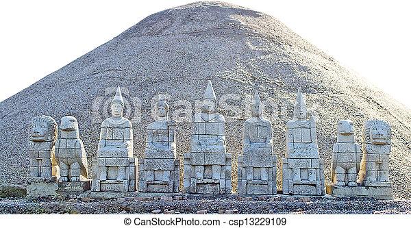 Egyptian Figurines - csp13229109