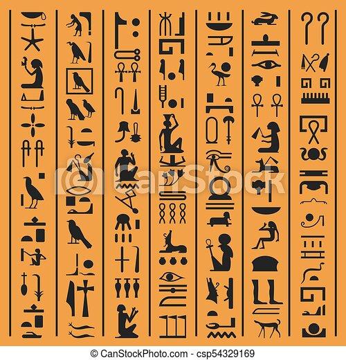 egyptian writing name