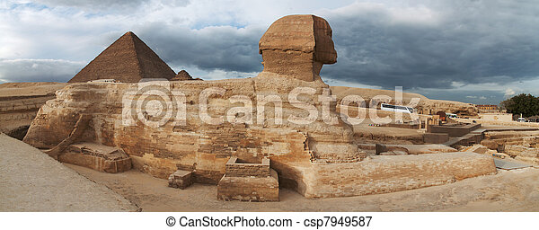 Egyptian Sphinx  - csp7949587
