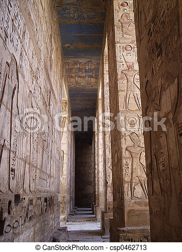 Egyptian temple - csp0462713