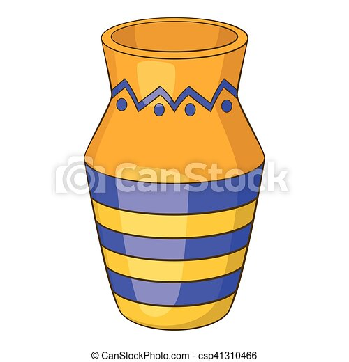 egyptian vase icon cartoon style egyptian vase icon clip art rh canstockphoto com egyptian clip art images egyptian clipart black and white