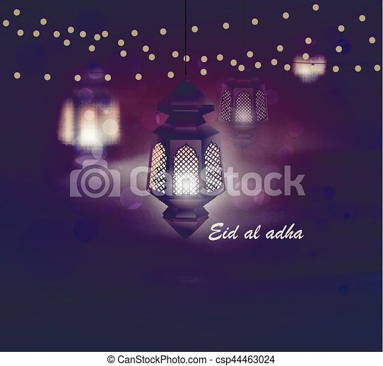 Eid al adha greeting card template on eid al fitr muslim religious eid al adha greeting card template on eid al fitr muslim religious holiday with m4hsunfo