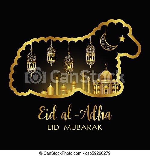 eid al adha template eid al adha luxury template mubarak pattern