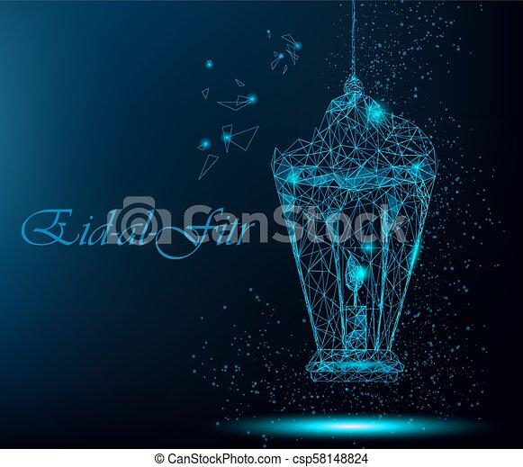 Eid al fitr greeting card eid al fitr beautiful greeting card with eid al fitr greeting card csp58148824 m4hsunfo