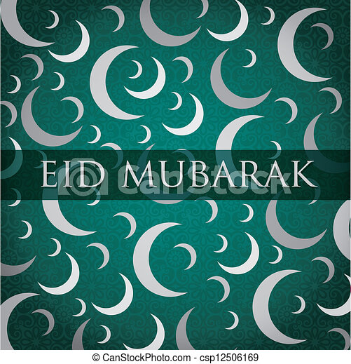 Eid Mubarak - csp12506169
