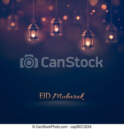 Eid Mubarak - csp28313234