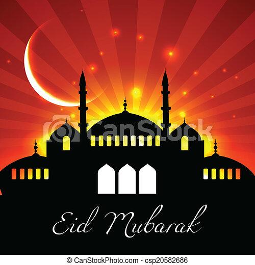Trasfondo de Eid - csp20582686