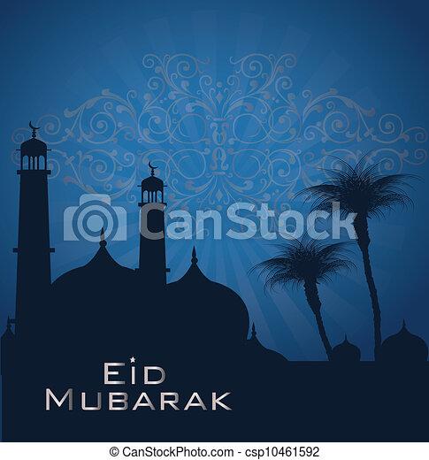 Saludos de Eid - csp10461592