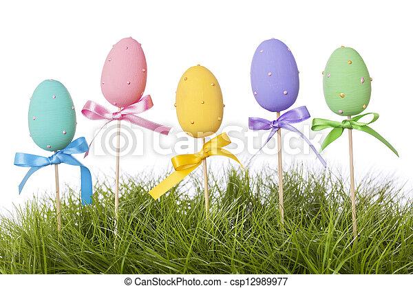 eier, ostern - csp12989977